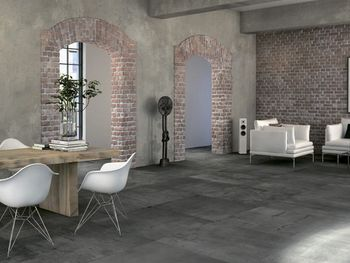 Apavisa Regeneration black natural 90x90