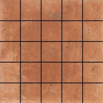 A.Mano Mosaico Rosso Natural 5x5 30x30