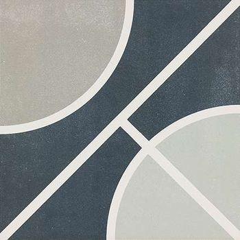 Encaustic 2.0 Circle Decor Lappato 30x30