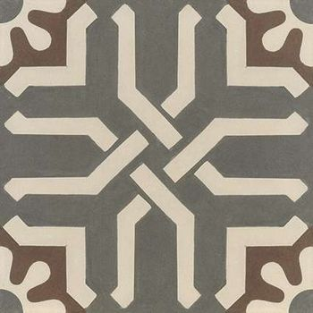 Encaustic Graphite Decor 30x30