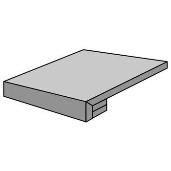 Encaustic Grey Natural Grad Rec 30x30