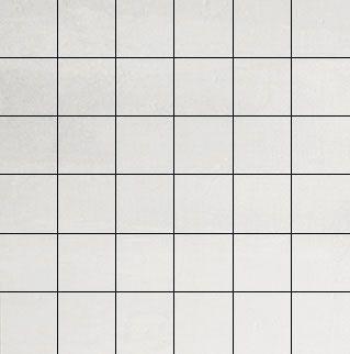 Forma White Stuccato Mosaico 5x5 30x30