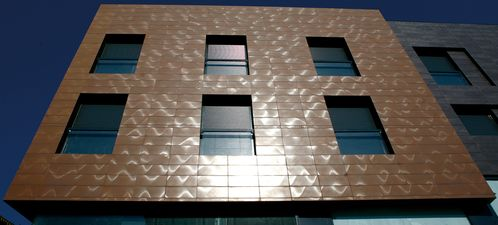 Apavisa Inox copper graffiato 30x60