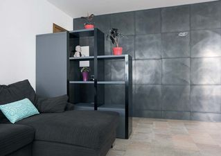 Apavisa Inox silver graffiato 60x60