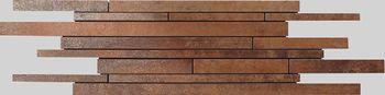 Apavisa Metal copper lappato mosaico sin fin 15x45