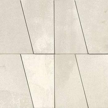 Nanoarea 7.0 White Bagnato Mosaico Brick 30x30