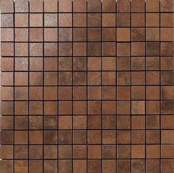 Apavisa Nanocorten copper lappato mosaico 2.5x2.5