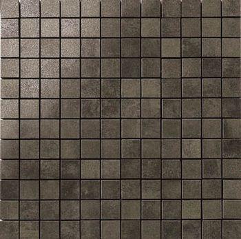 Apavisa Nanocorten titanium lappato mosaico 2.5x2.5