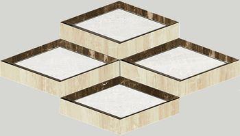 Nanoessence Beige Lappato Mosaico Brick 19x58