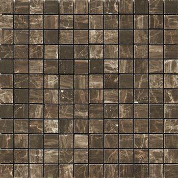 Nanoessence Brown Lappato Mosaico 2,5x2,5 30x30