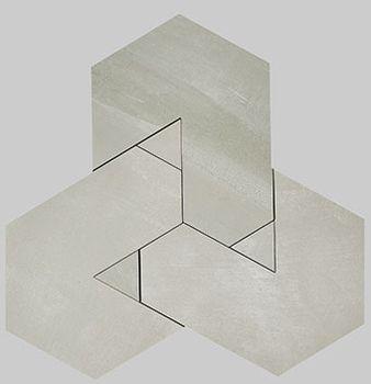 Nanoforma Grey Mosaico Brick 34x39