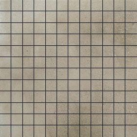 Nanoforma Taupe Natural Mosaico 2,5x2,5 30x30