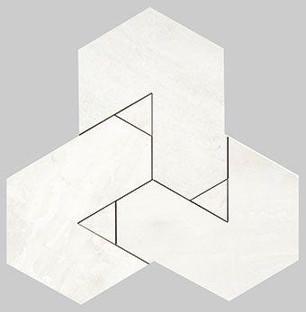 Nanoforma White Mosaico Brick 34x39
