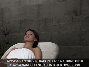 Apavisa Nanoregeneration black natural 30x90