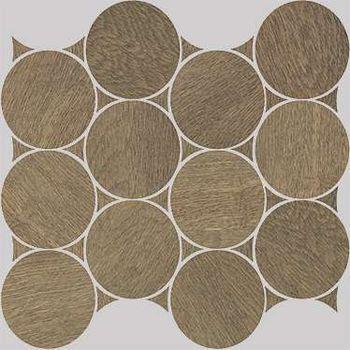 Nanoshiba 7.0 Ochre Natural Mosaico Circle 30.07x34.84