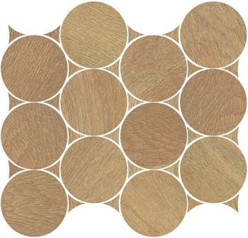 Nanoshiba Beige Natural Mosaico Сircle 30.07x34.84