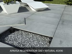 Apavisa Regeneration grey natural 45x90