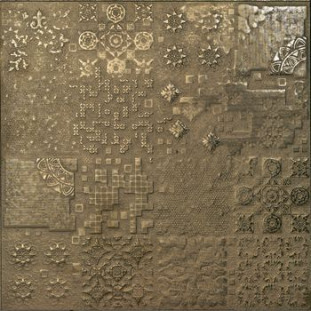 Apavisa Rendering Gold decor lappato 60x60 Archconcept