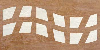 Apavisa Rovere ochre decape decor wave 45x90