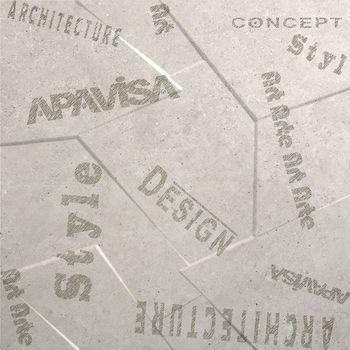 Apavisa Anarchy beige natural prism letters 60x60