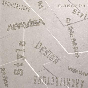 Apavisa Anarchy ivory natural prism letters 60x60