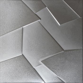 Apavisa Anarchy silver lappato prism 60x60