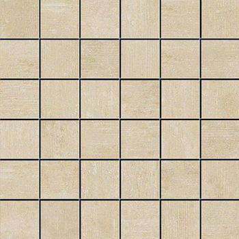 Apavisa Beton beige lappato mosaico 5x5 30x30