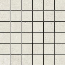 Apavisa Beton white lappato mosaico 5x5 30x30