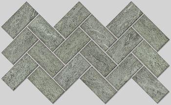 Apavisa Burlington green lappato mosaico 5x10 30x30
