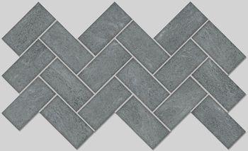 Apavisa Burlington grey lappato mosaico 5x10 30x30