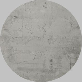 Apavisa Circle moon regeneration grey natural 25x25