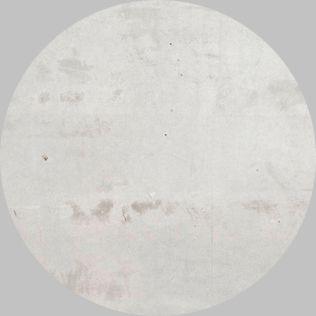 Apavisa Circle moon regeneration white natural 25x25