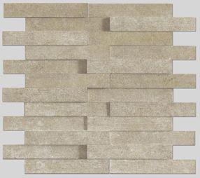 Apavisa Evolution beige striato mosaico brick 30x28