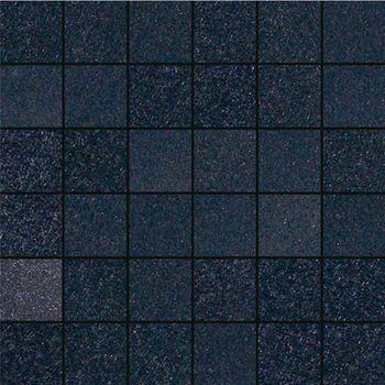 Apavisa Fiberglass black lappato mosaico 5x5 30x30