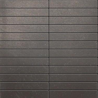Apavisa Inox chrome graffiato mosaico 2.5x15 30x30