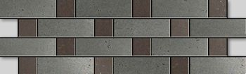 Apavisa Inox chrome graffiato mosaico sin fin 10x30