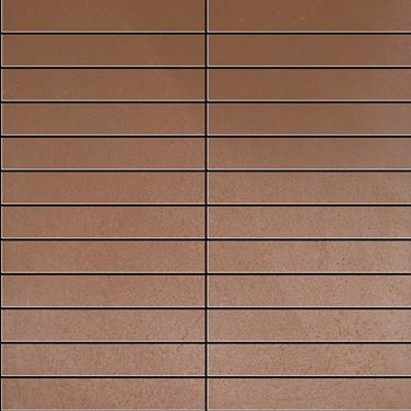 Apavisa Inox copper graffiato mosaico 2.5x15 30x30