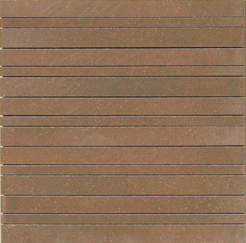Apavisa Inox copper graffiato mosaico random 30x30