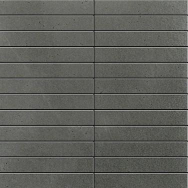 Apavisa Inox silver graffiato mosaico 2.5x15 30x30