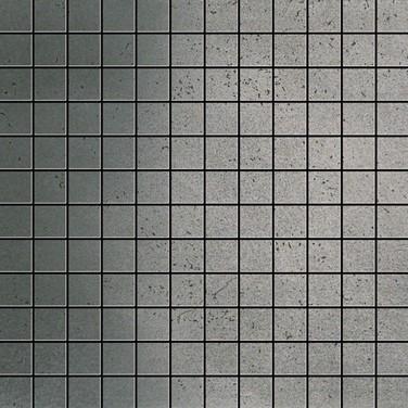 Apavisa Inox silver graffiato mosaico 2.5x2.5 30x30