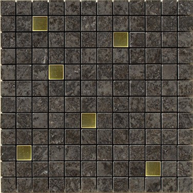 Apavisa Iridio black mix mosaico 2,5x2,5 30x30