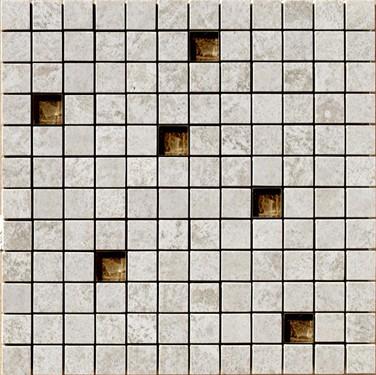 Apavisa Iridio grey mix mosaico 2,5x2,5 30x30