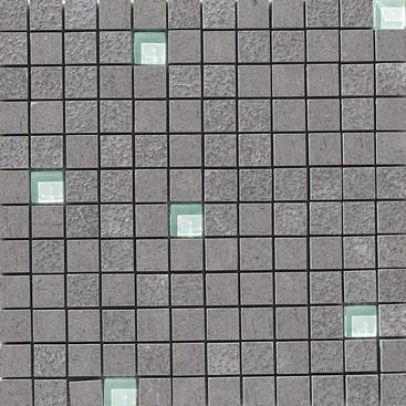 Apavisa Lava antracita multirelieve mosaico 2.5x2.5 30x30