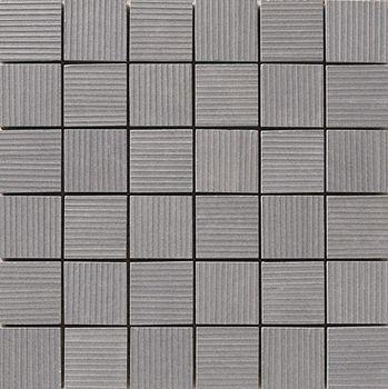 Apavisa Lava antracita rigato mosaico 5x5 30x30