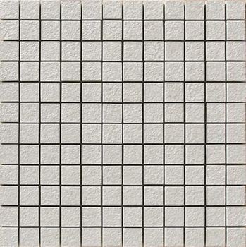Apavisa Lava gris bocciardato mosaico 2.5x2.5 30x30