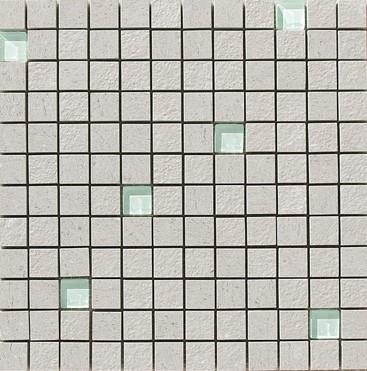 Apavisa Lava gris multirelieve mosaico 2.5x2.5 30x30