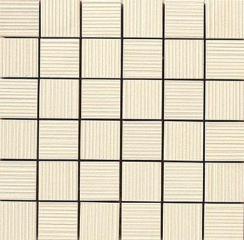 Apavisa Lava marfil rigato mosaico 5x5 30x30