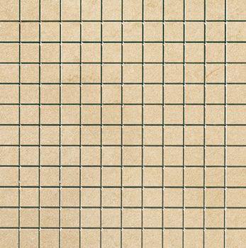 Apavisa Lifestone Globe beige lappato mosaico 2.5x2.5 30x30