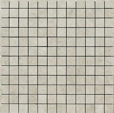 Apavisa Limestone Antique gris lappato mosaico 2.5x2.5 30x30