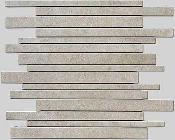 Apavisa Limestone Antique gris lappato mosaico sin fin 30x30